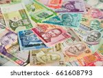 variety of the african banknotes | Shutterstock . vector #661608793