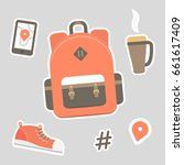 vector flat illustration of a... | Shutterstock .eps vector #661617409
