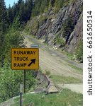 Road Sign For Runaway Truck...