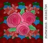 for backgrounds  textiles ...   Shutterstock .eps vector #661661764