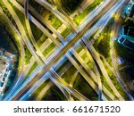 the light on the road... | Shutterstock . vector #661671520