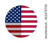 american flag  national flag of ... | Shutterstock .eps vector #661675753