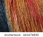 the shade of color painted on... | Shutterstock . vector #661676830