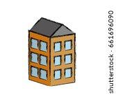 apartaments building icon