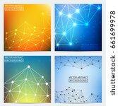 geometric graphic. vector... | Shutterstock .eps vector #661699978