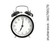 alarm clock isolated. alarm...   Shutterstock . vector #661700170