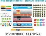 web designers toolkit   premium ...   Shutterstock .eps vector #66170428