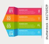 template for infographic diagram | Shutterstock .eps vector #661710529