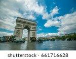 paris france   april 27  2017... | Shutterstock . vector #661716628