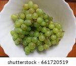 white bowl. round. inside the... | Shutterstock . vector #661720519