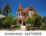 gifford house  victorian house... | Shutterstock . vector #661720858