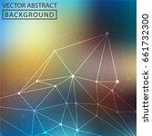 geometric background. internet...   Shutterstock .eps vector #661732300