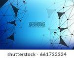 geometric vector. concept of...   Shutterstock .eps vector #661732324
