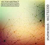 geometric background. internet...   Shutterstock .eps vector #661732330