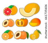abstract vector illustration... | Shutterstock .eps vector #661735606