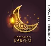 ramadan kareem cover   mubarak... | Shutterstock .eps vector #661792246