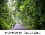 khao yai  prachinburi  thailand ...   Shutterstock . vector #661792360