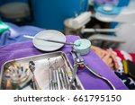 equipments for root canal... | Shutterstock . vector #661795150