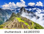 Machu Picchu  Peru. Unesco...