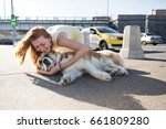 a shooting shot. accident on a... | Shutterstock . vector #661809280