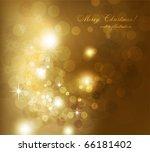 elegant christmas background | Shutterstock .eps vector #66181402