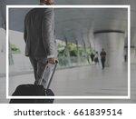 badge banner frame blank copy... | Shutterstock . vector #661839514