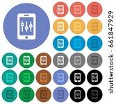 smartphone tweaking multi... | Shutterstock .eps vector #661847929