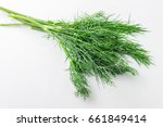 Dill Weed. Fresh Dill Greens....