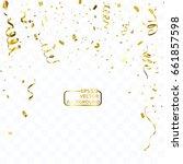 celebration background template ...   Shutterstock .eps vector #661857598