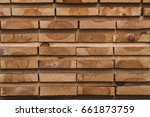 wood processing. joinery work.... | Shutterstock . vector #661873759