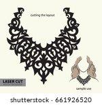 digital vector file for laser... | Shutterstock .eps vector #661926520