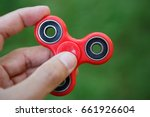popular red plastic finger... | Shutterstock . vector #661926604