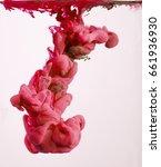 colors ink drops in water | Shutterstock . vector #661936930