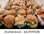 homemade hamburger with bacon ... | Shutterstock . vector #661939438