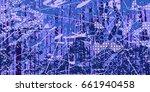 creative artistic digital... | Shutterstock .eps vector #661940458