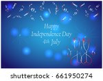american independence day 4 th...   Shutterstock .eps vector #661950274