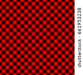seamless checkered vector... | Shutterstock .eps vector #661953238