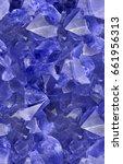 macro photo of blue sapphire... | Shutterstock . vector #661956313