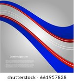 abstract background with bright ... | Shutterstock .eps vector #661957828