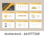 abstract presentation slide... | Shutterstock .eps vector #661977268