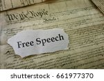 Free Speech Newspaper Headline...