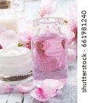 natural cosmetics  fresh as... | Shutterstock . vector #661981240
