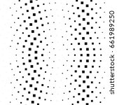 abstract halftone dotted... | Shutterstock .eps vector #661989250