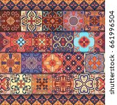 seamless pattern with...   Shutterstock .eps vector #661996504