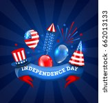 american banner for... | Shutterstock .eps vector #662013133