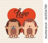 love animals illustration | Shutterstock .eps vector #662026780