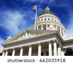 dome of california's state... | Shutterstock . vector #662035918