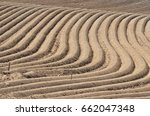 cultivated field | Shutterstock . vector #662047348