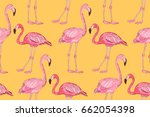 flamingo pattern. flamingo...