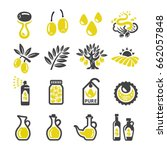 olive oil icon | Shutterstock .eps vector #662057848